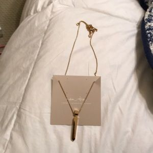 New India Hicks The Player Necklace- Gold